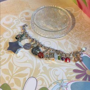 Jewelry - Multi gemstone Sterling silver bracelet